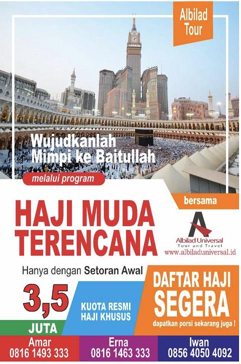 Haji Muda Terencana 2021