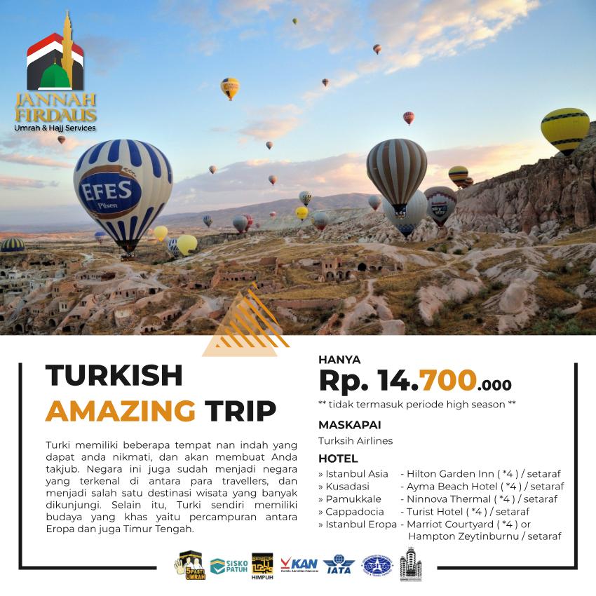 HALAL TOUR AMAZING TURKISH TRIP