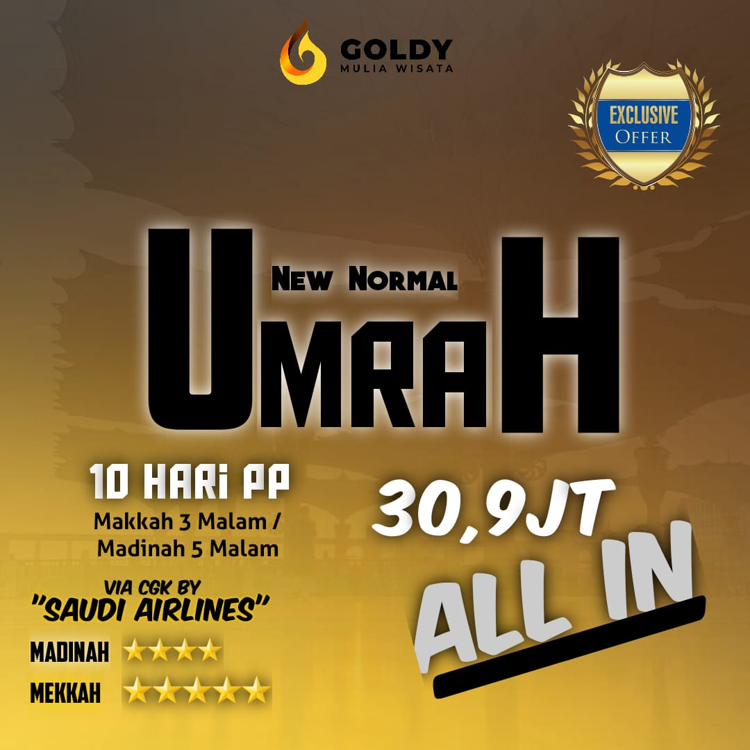 UMROH NEW NORMAL JANUARY