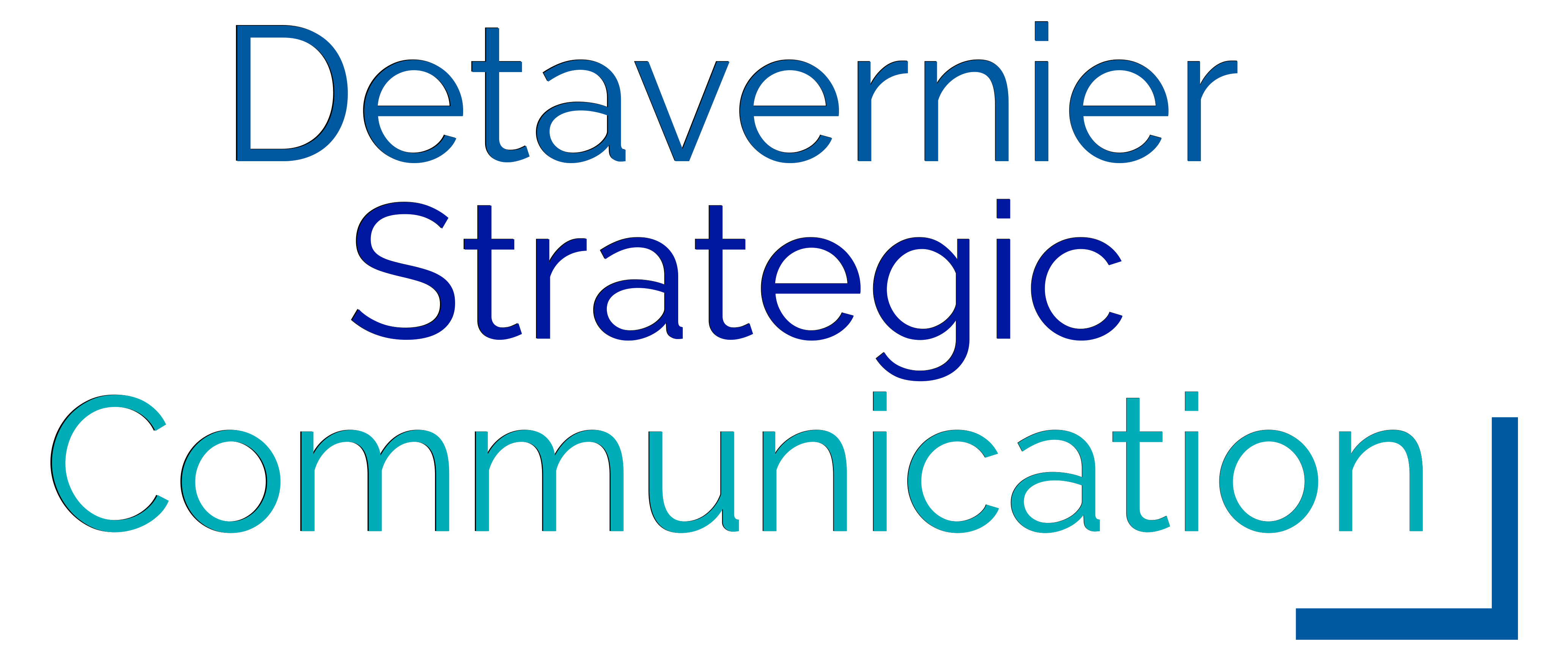 Detavernier Strategic Communication