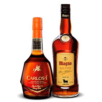 COMBO CARLOS I GRAN RVA 700 ML + MAGNO 700 ML