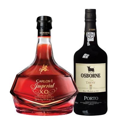 COMBO CARLOS I IMP XO+ OPORTO OSBORNE TAWNY 750 ML