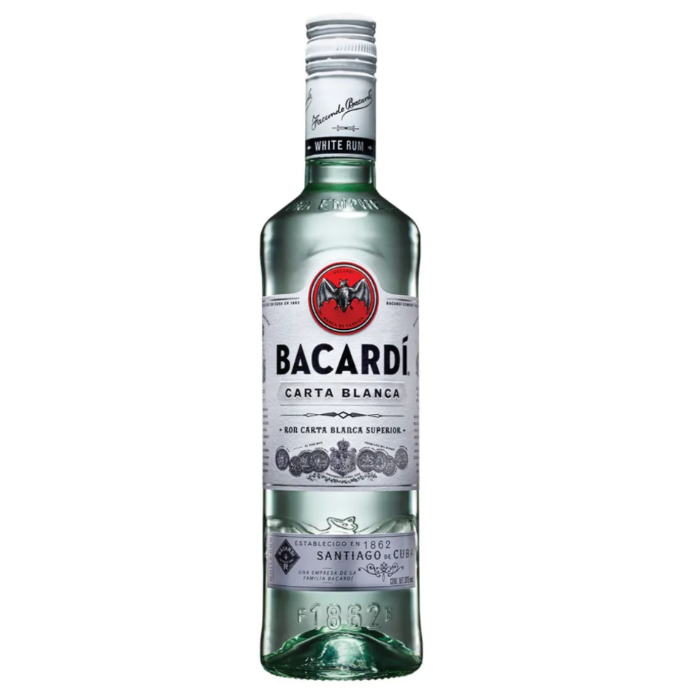 BACARDI BLANCO 375 ML