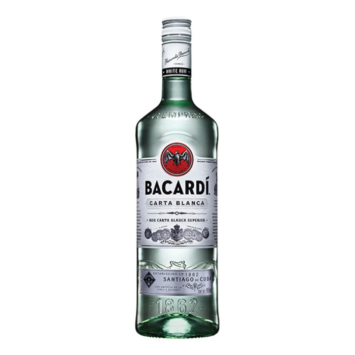 BACARDÍ BLANCO 980 ML