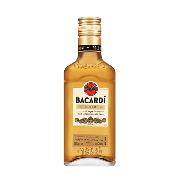BACARDI ORO 200 ML