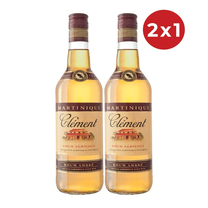2X1 CLEMENT AMBERE 700 ML