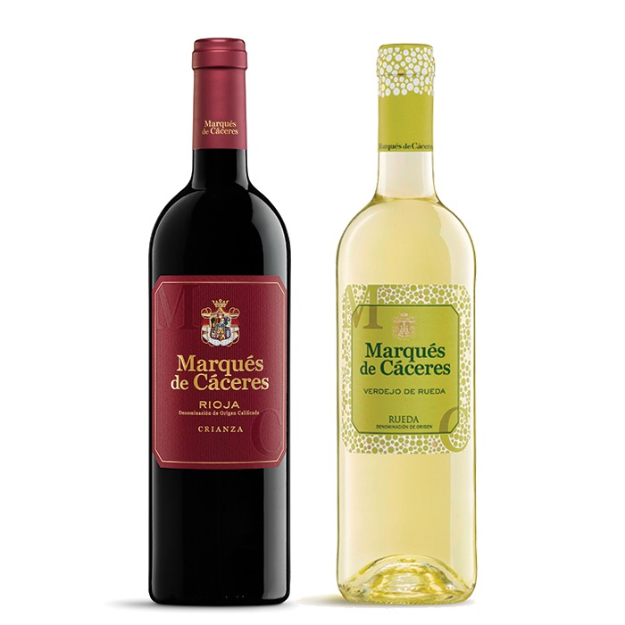 COMBO MARQUES CACERES  750 ML