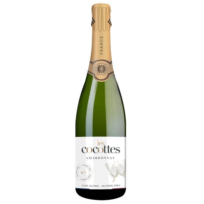 LES COCOTTES CHARDONNAY S/ ALCOHOL ESPUMOSO 750 ML