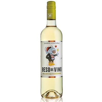 Beso de Vino Macabeo Chardonnay 750 ML