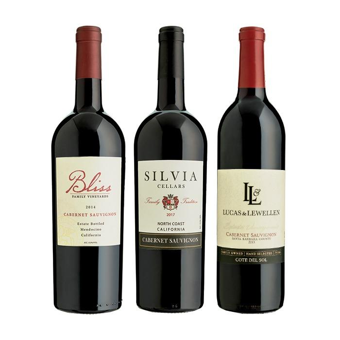 BLISS + LUCAS & LEWELLEN + SILVIA CELLARS CABERNET