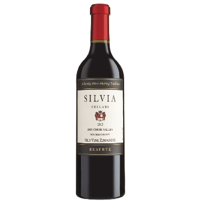 SILVIA CELLARS OLD VINE ZIFANDEL 750 ML