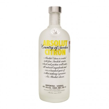 ABSOLUT CITRON 750 ML