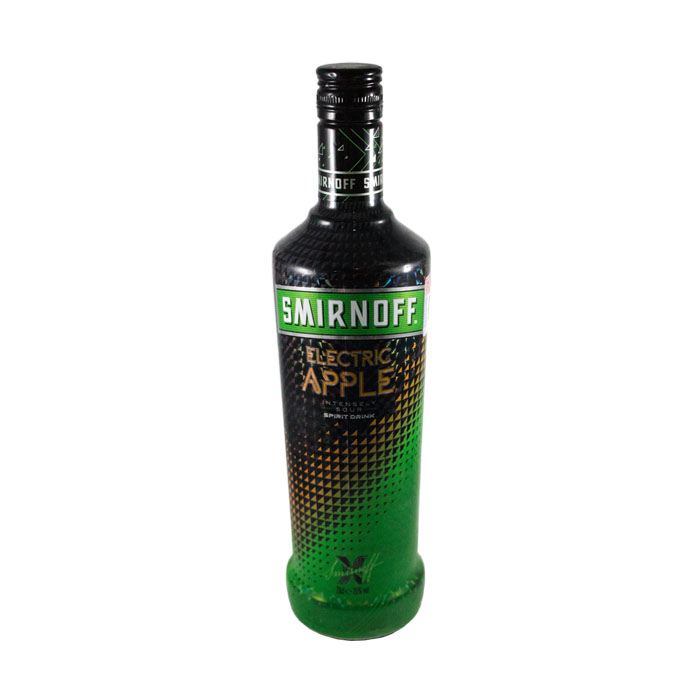 SMIRNOFF ELECTRIC APPLE 700 ML