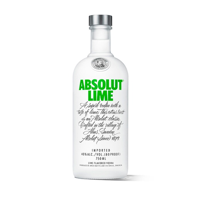 ABSOLUT LIMA 750 ML