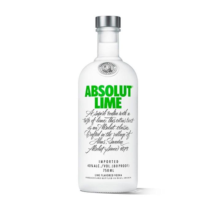 ABSOLUT LIMA 750 ML