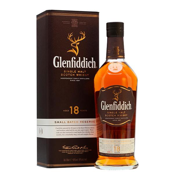 GLENFIDDICH 18 AÑOS 750 ML