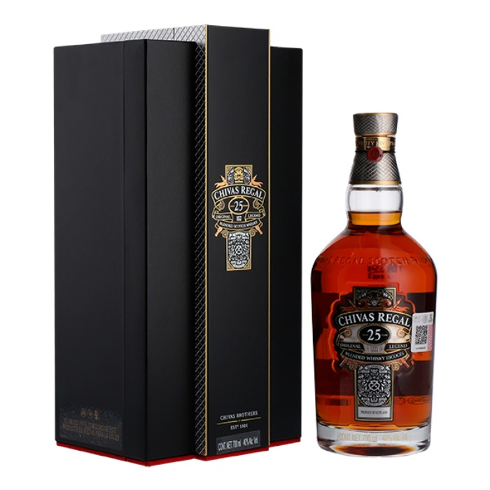 CHIVAS REGAL 25 AÑOS 700 ML