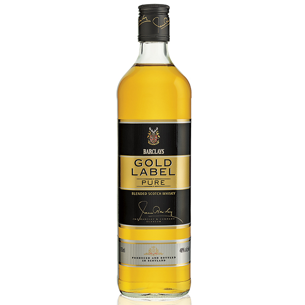 BARCLAYS GOLD LABEL 750 ML
