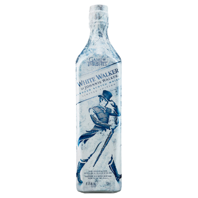 JOHNNIE WALKER EDICION WHITE WALKER