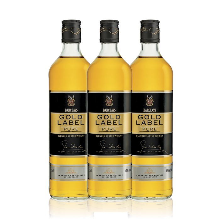 3 X 2 BARCLAY'S GOLD LABEL