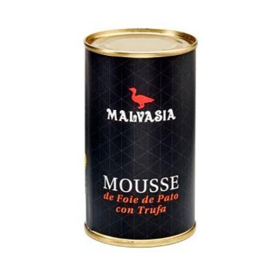 MOUSSE DE FOIE DE PATO CON TRUFA MALVASIA 200 GR