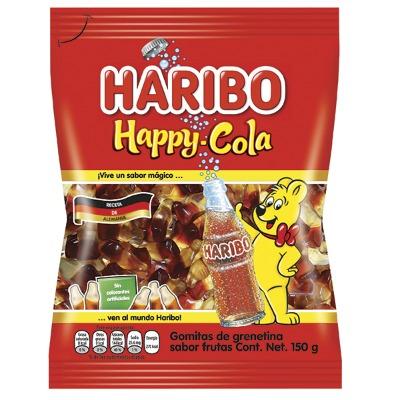 GOMITAS HARIBO HAPPY COLA 150 GR