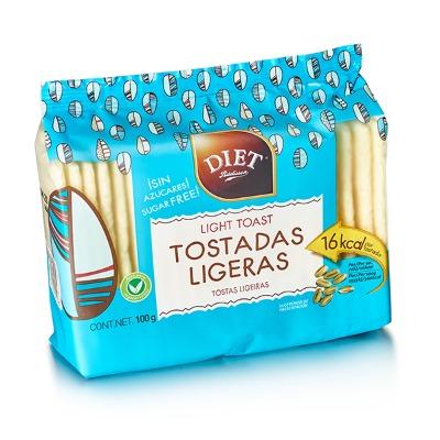 TOSTADAS LIGERAS DIET 100 GR