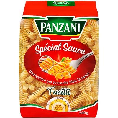 FUSILLI 3 COLORES PANZANI 500 GR