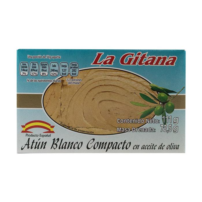 LATA LA GITANA ATUN BLANCO 111 GR