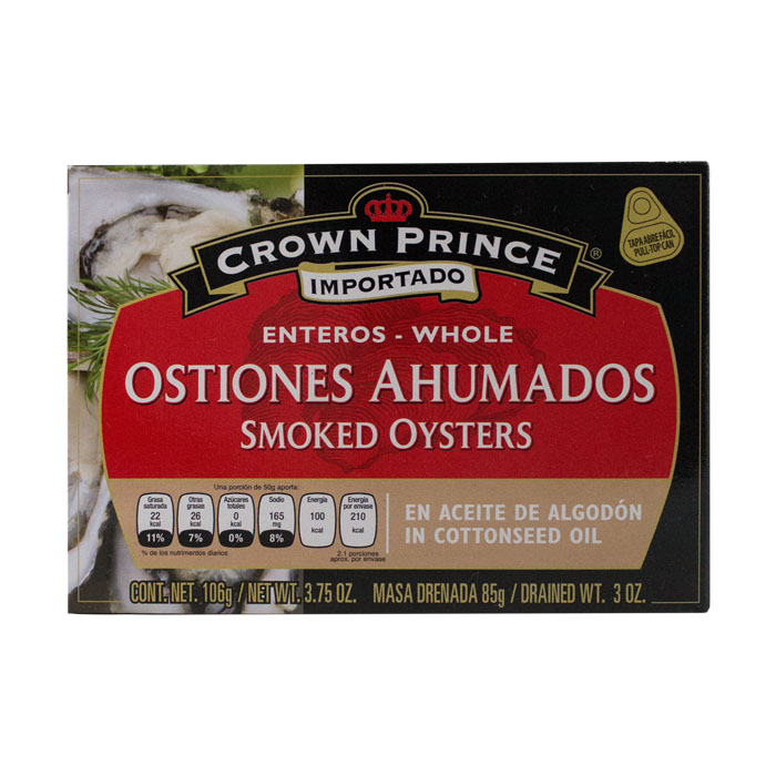 LATA CROWN PRINCE OSTIONES AHUMADOS 106 GR