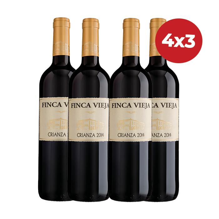 COMBO 4X3 FINCA VIEJA CRIANZA