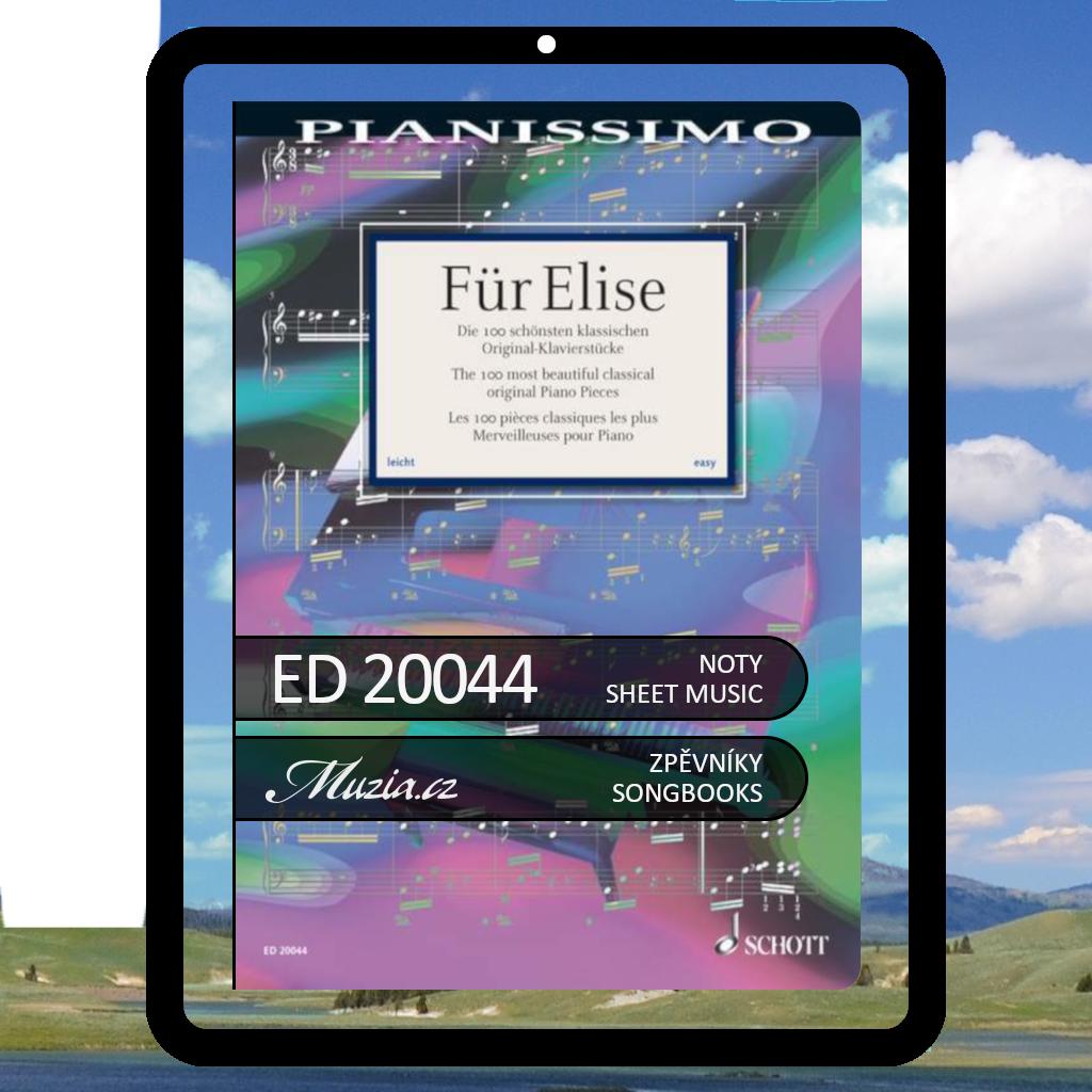 Pro Elišku | 100 nejkrásnějších klasických skladeb pro klavír