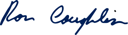 Signature of Ron Coughlin