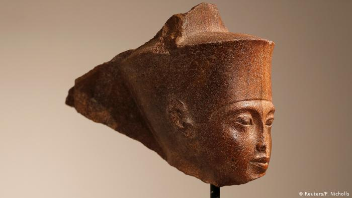 Egipto solicita a Interpol localizar el busto de Tutankamón