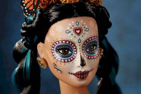 Barbie Rinde Homenaje A México Vestida De Catrina Mvs Noticias