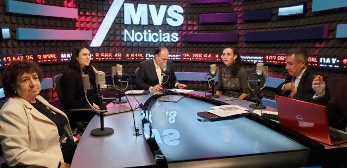 VÍCTOR SÁNCHEZ BAÑOS EN MVS