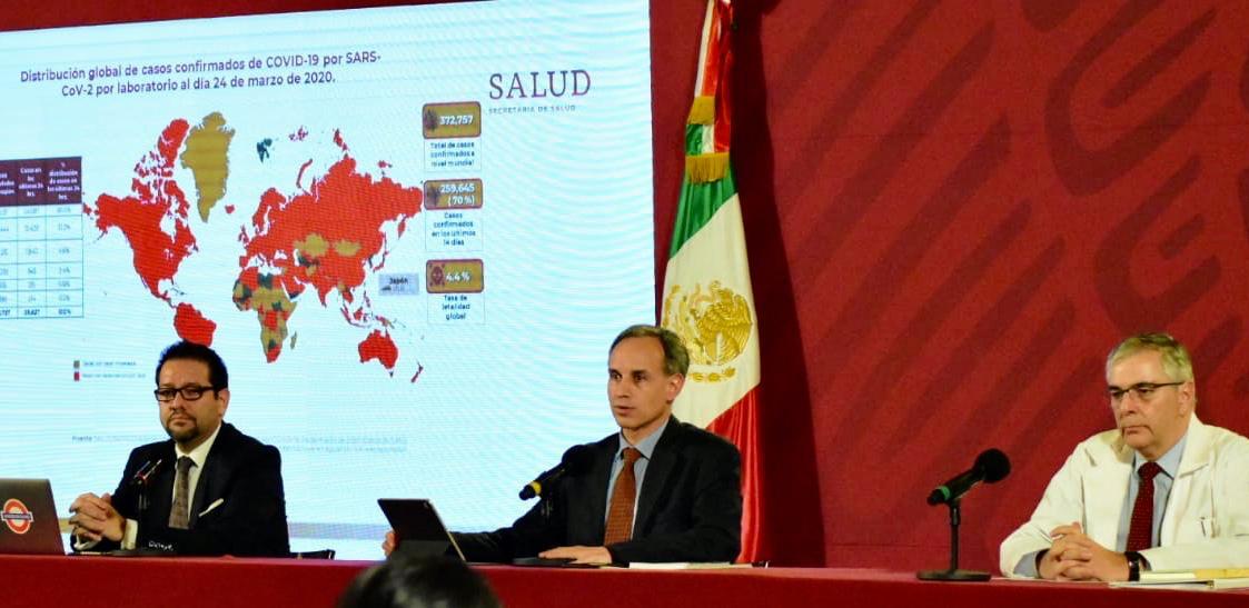 Resultado de imagen para gobierno federal suspenderá actividades por Covid