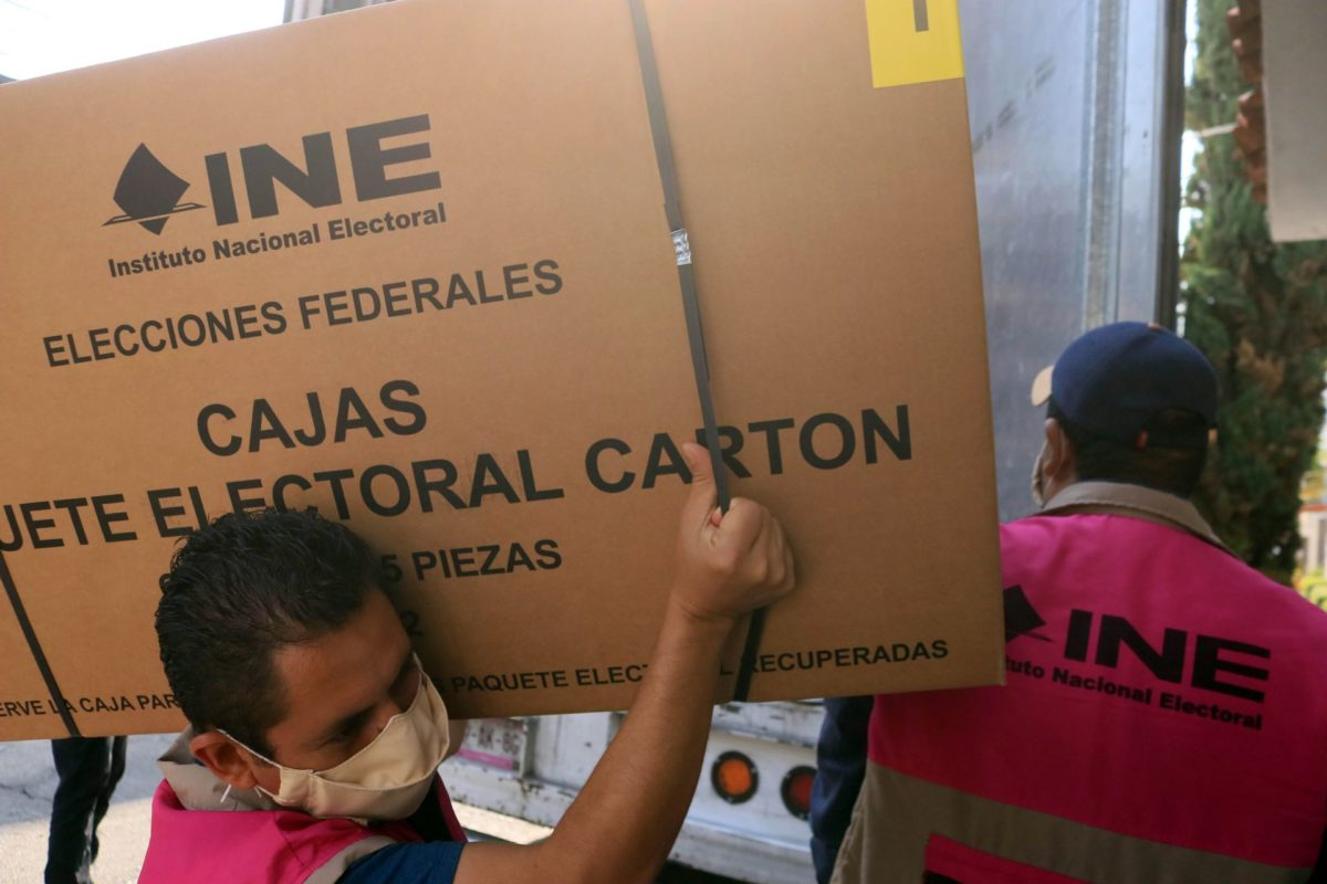 INE caja