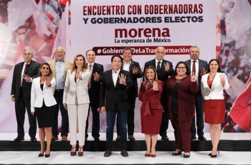 gobernadores de morena
