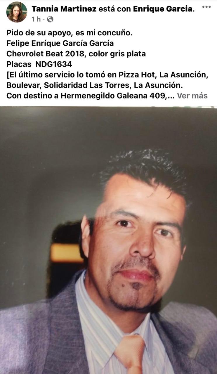 Enrique García / foto: corresponsal Juan Gabriel Gonzalez