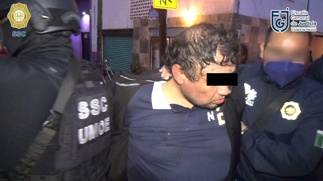 FGJ detiene a hombre por narcomenudeo