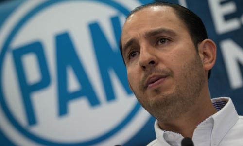 Marko Cortés, líder nacional del PAN dice que van a ganar varias gubernaturas el próximo 6 de junio / Foto: Cuartoscuro