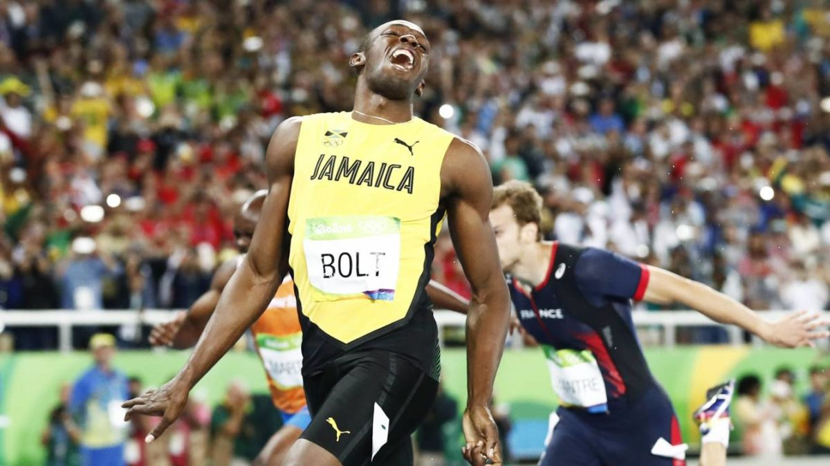 Usain Bolt festeja su victoria / Foto: Reuters