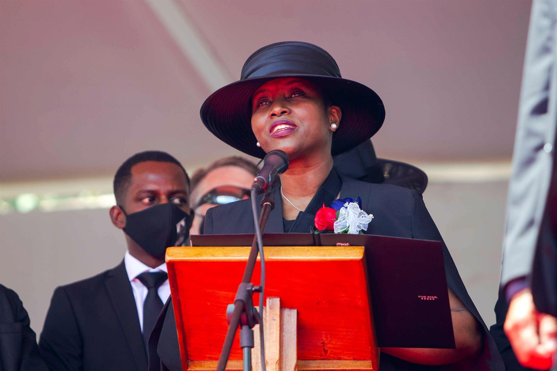 Viuda del presidente de Haití/ Foto: EFE