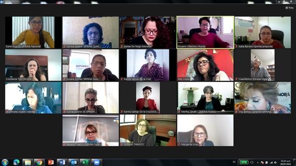 Videoconferencia/Foto: Segob