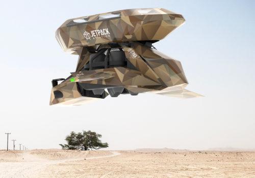 Motocicleta voladora