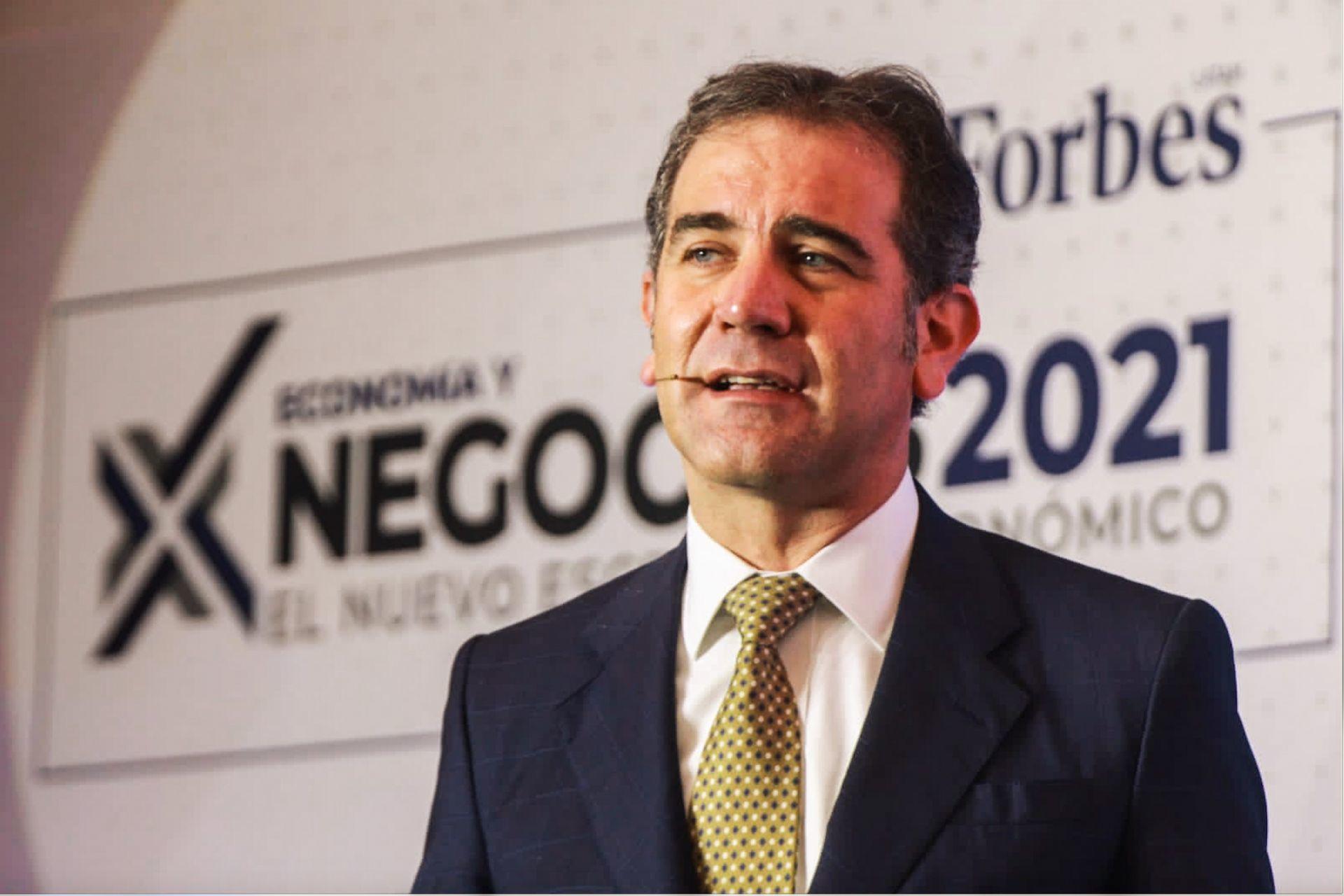 Lorenzo Córdova Vianello, Consejero Presidente del INE/Foto: cuartoscuro