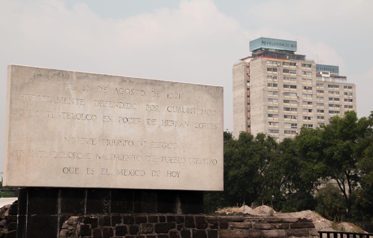 Tlatelolco como Patrimonio Cultural Intangible y sitio emblemático de la memoria histórica de la CDMX /Foto: cuartoscuro