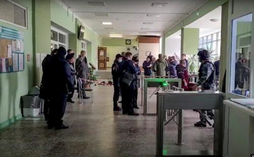 tiroteo en universidad de Rusia