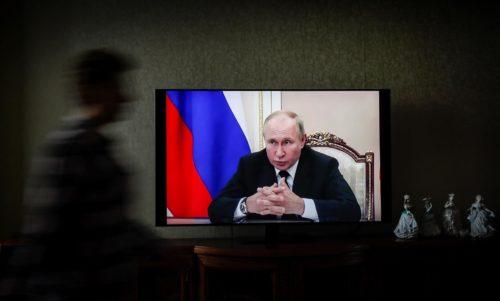 videconferencia de Vladimir Putin
